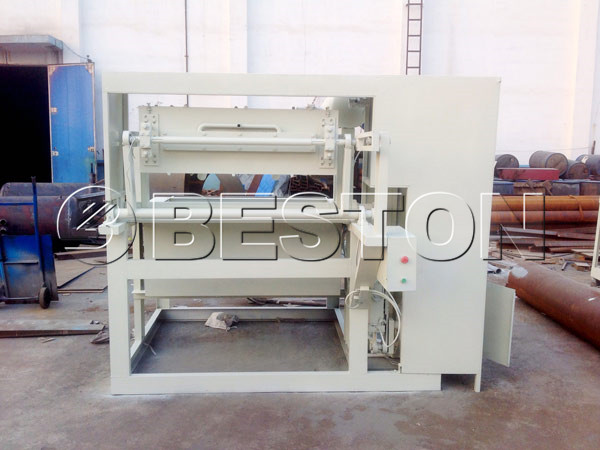 1500pcs paper pulp making machine