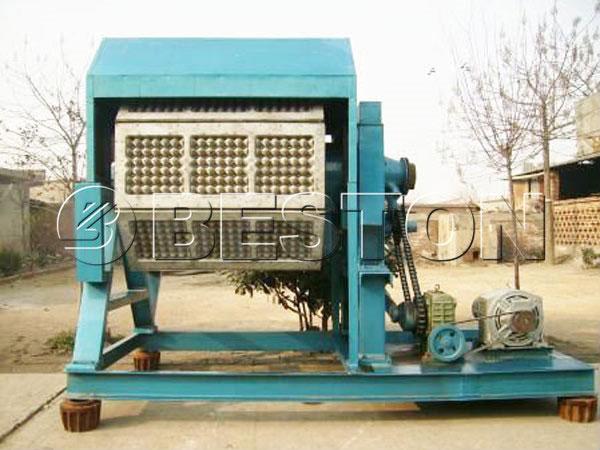 2000pcs apple tray making machine