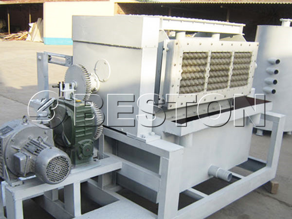 2000pcs egg carton making machine