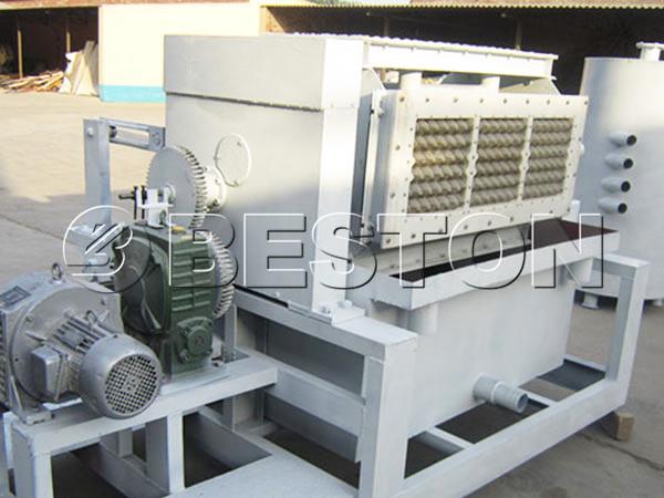 2000pcs egg carton making machine