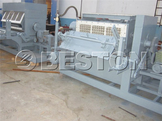 2000pcs egg tray machine for sale