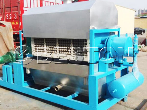3000-4000pcs paper pulp making machine