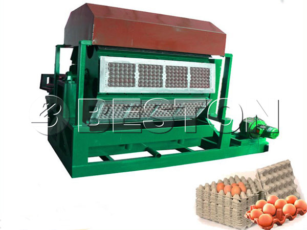 5000-7000pcs paper pulp making machine