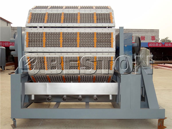 5000-6000pcs paper pulp making machine