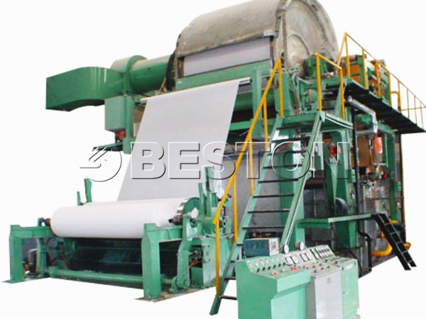 BT-1200 waste paper recycling machine