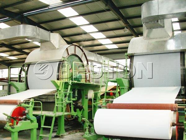 BT-1575 tissue paper making machine