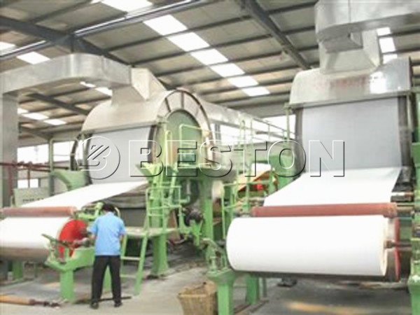 BT-1600 fourdrinier paper machine