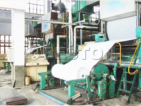 BT-1800 fourdrinier paper machine
