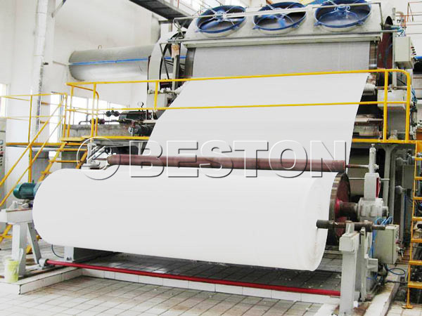 BT-1880 waste paper recycling machine