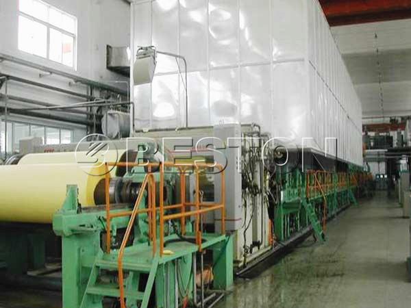 BT-2640 kraft paper machine