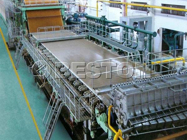 BT-2640 tissue paper making machine