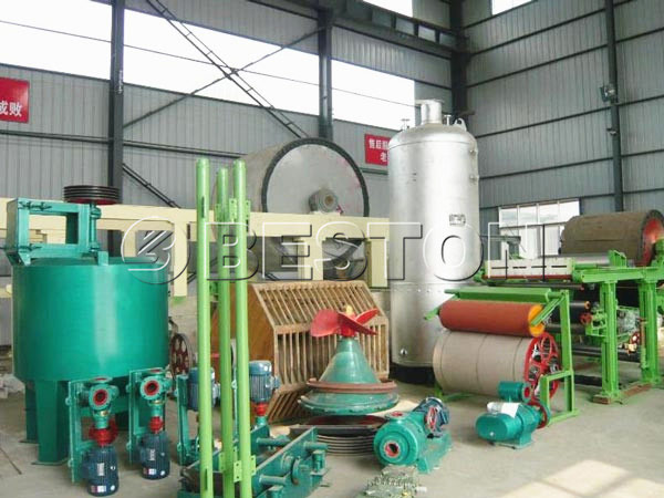 BT-787 toilet paper machine for sale