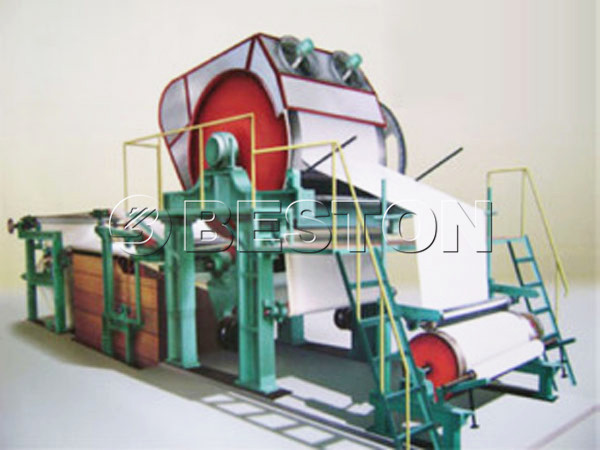 BT-787 waste paper recycling machine